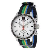 Tissot Men's T0954171703702 'Quickster Limited Edition Baku 2015' Chronograph Colourful Canvas Watch