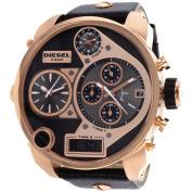 Diesel Men's DZ7261 Daddies Series Analogue Display Quartz Black Watch