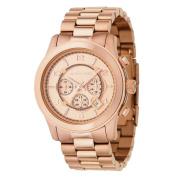 Michael Kors MK8096 'Runway' Rose Gold-Tone Watch