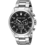 Michael Kors Men's MK8413 Gauge Round Silvertone Bracelet Watch