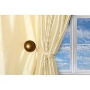 Magnaclips Vela Bronze, Curtain Clips, Tiebacks, or holdbacks Set of 2 | No Tools Required