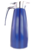Thermos Carafe Coffee Vacuum Flask in Stainless Steel Double Walled Funtainer - Blue