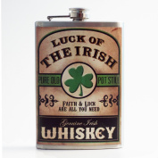 Trixie & Milo Stainless Steel Flask - Luck of the Irish