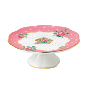 Royal Albert New Country Roses Cheeky Pink Small Cake Stand