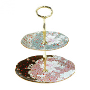Wedgwood Two-Tier Daisy Tea Story Cake Stand