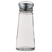 Vollrath 703 90ml Smooth Glass Salt and Pepper Shakers - 24 / CS