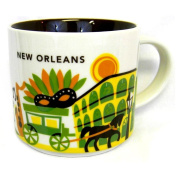 """Starbucks New Orleans Ceramic Coffee Mug """"You Are Here"""" Series Cup"""