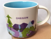 Oregon You Are Here Starbucks Mug New Release 410ml
