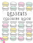Desserts Coloring Book