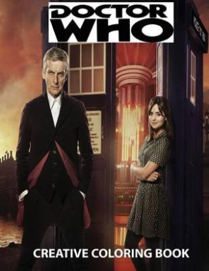 Doctor Who Creative Coloring Book Fishpondconz Books J Jackson 9781523733125