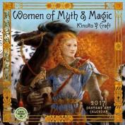 Women of Myth & Magic 2017 Wall Calendar  : 2017 Fantasy Art Calendar