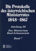 Die Protokolle Des Osterreichischen Ministerrates 1848-1867 Abteilung III [GER]