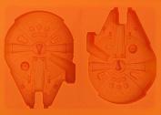 3D Star Wars Millenium Falcon Ship Silicone Mould for Fondant Gum Paste Chocolate Crafts