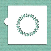 Circle of Hearts Cookie and Craft Stencil CM046 by Designer Stencils