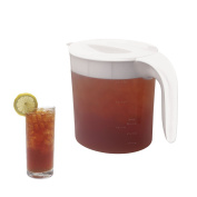 White/ Clear Iced Tea Maker Replacement Pitcher (Tm70) 2.8l. White By Mr. Coffee Tp70 No.215