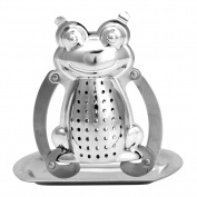 Kangnice Stainless Frog Tea Infuser Diffuser Loose Leaf Strainer Herbal Spice Filter New