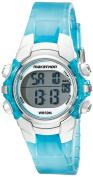 Timex T5K817M6 Unisex Marathon Digital Mid-size Light Blue/ Silvertone Watch