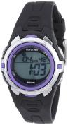 Timex T5K364M6 Women's Marathon Digital Mid-size Blue/ Silvertone/ Purple Watch