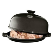 Emile Henry Flame Bread Cloche, 34cm x 28cm , Charcoal