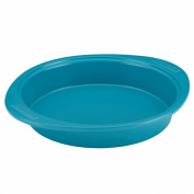Hybrid Ceramic Nonstick Bakeware 23cm Round Cake Pan, Marine Blue