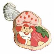Vintage 1981 Wilton Strawberry Shortcake Birthday Cake Pan #502-3835