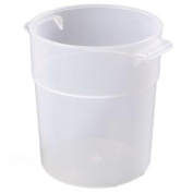 Carlisle 035530 Bains Marie Round Storage Container Only, 3.3l, Translucent