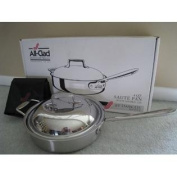 All-Clad d5 Stainless Brushed 3.8l. Saute' Pan with Domed Lid