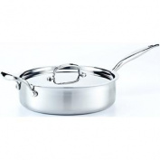 Hammer Stahl 3.8l Deep Saute Pan with Cover