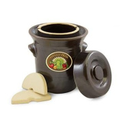 TSM Products 31040 Harvest Fiesta Fermentation Pot with Stone Weight, 5-Litre