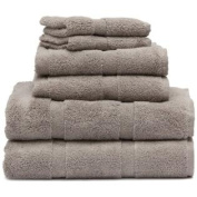 Talesma Taupe Plush Pile Towels Set