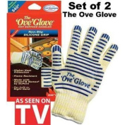 Two Ove' Glove Hot Surface Handler Pack of 2 Gloves