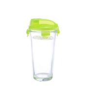 Kinetic 55807 Go Green Glasslock Elements Shaker, Pour Lid Green Lid