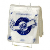 Royal High Density Printed Deli Saddle Bags, 22cm X 22cm , Package of 2,000