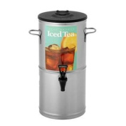 Bloomfield 8802-5G Iced Tea Dispenser with Handles, 18.9l, Stainless Steel, 26cm Depth, 60cm Height