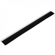 1M Length Aluminium Nylon 80mm Brush Insert Seal Door Bottom Weatherstrip Sweep