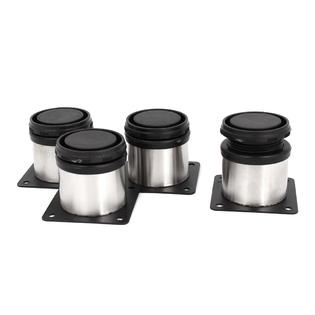 4pcs 50mm X 50mm Adjustable Plinth Leg Feet For Kitchen Cabinet