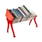 Talk Design BS24R Cast Iron Tabletop Bookshelf, 60cm , Red