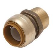 U142LFA Reducing Connector 2.5cm x 1.9cm Mnpt