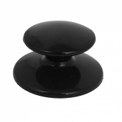 Kitchen Pot Pan Black Plastic Lid Handle Knobs Cookware Parts Cover Hand Grip