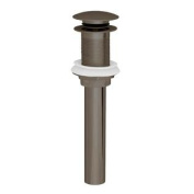 Westbrass D411A-1-12 High-Flow Grid Lavatory Drain w/o Overflow Holes - Exposed - Oil Rubbed Bronze