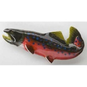 Painted ~ Arctic Char ~ Refrigerator Magnet ~ FP061M