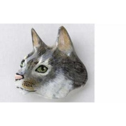 Painted ~ Abyssinian Cat ~ Refrigerator Magnet ~ CP002BM