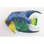 Painted ~ Angel Fish Juvenile ~ Refrigerator Magnet ~ SP081AM