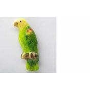Painted ~ Amazon Parrot ~ Refrigerator Magnet ~ BP094M