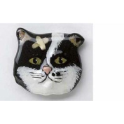 Painted ~ Alley Cat ~ Refrigerator Magnet ~ CP003AM