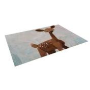 """Kess InHouse Rachel Kokko """"Oh Deer"""" Indoor/Outdoor Floor Mat, 1.2m by 1.5m"""