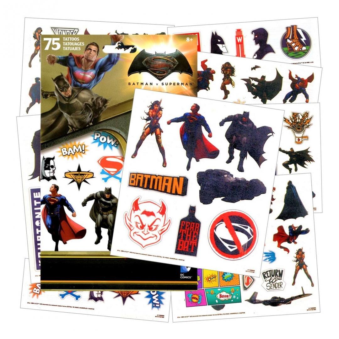 Batman V Superman Tattoos Batman V Superman Dawn Of Justice 75