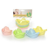 4Ct. Baby Boat Toy 4 Colours, Case of 48