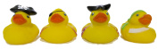 """Set of Four 5.1cm Rubber Duckies """"Pirates"""""""