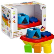 Let's Play Baby Bath Boat - Shape Sorting Function